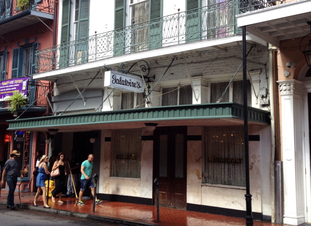 New Orleans Creole dining at Galatoire's.