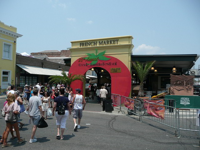 Creole Tomato Festival takes place June 11-12, 2016 at the French Market in New Orleans. (Photo credit Tom Bastin, via Flickr)