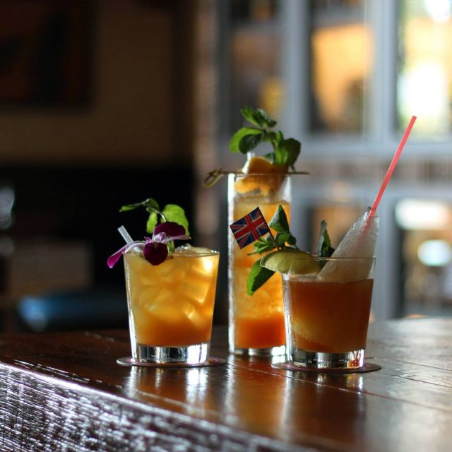 Enjoy a classic tiki cocktail like the Mai Tai, Zombie or Navy Grog at Latitude 29.