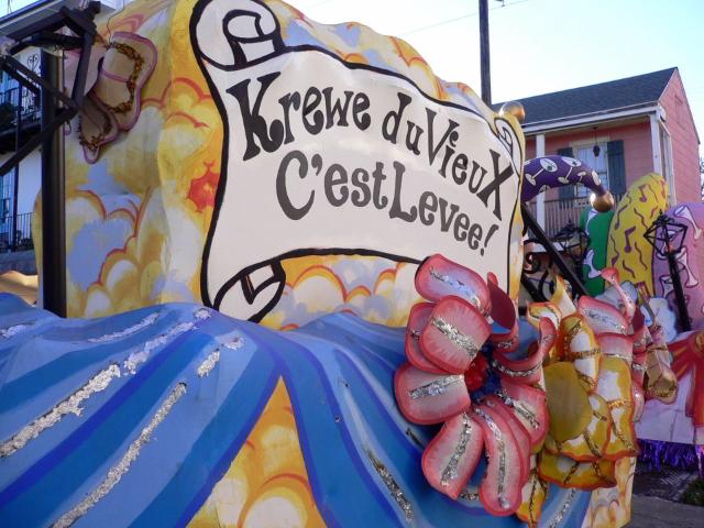 Lampooning Mardi Gras Parades: Krewe du Vieux and krewedelusion