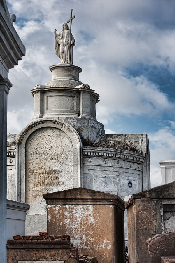 Saint Louis Cemetery 1 in New Orleans