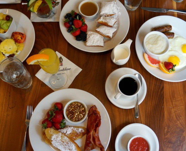 Indulge in breakfast at Criollo Restaurant, located inside our sister property, Hotel Monteleone.