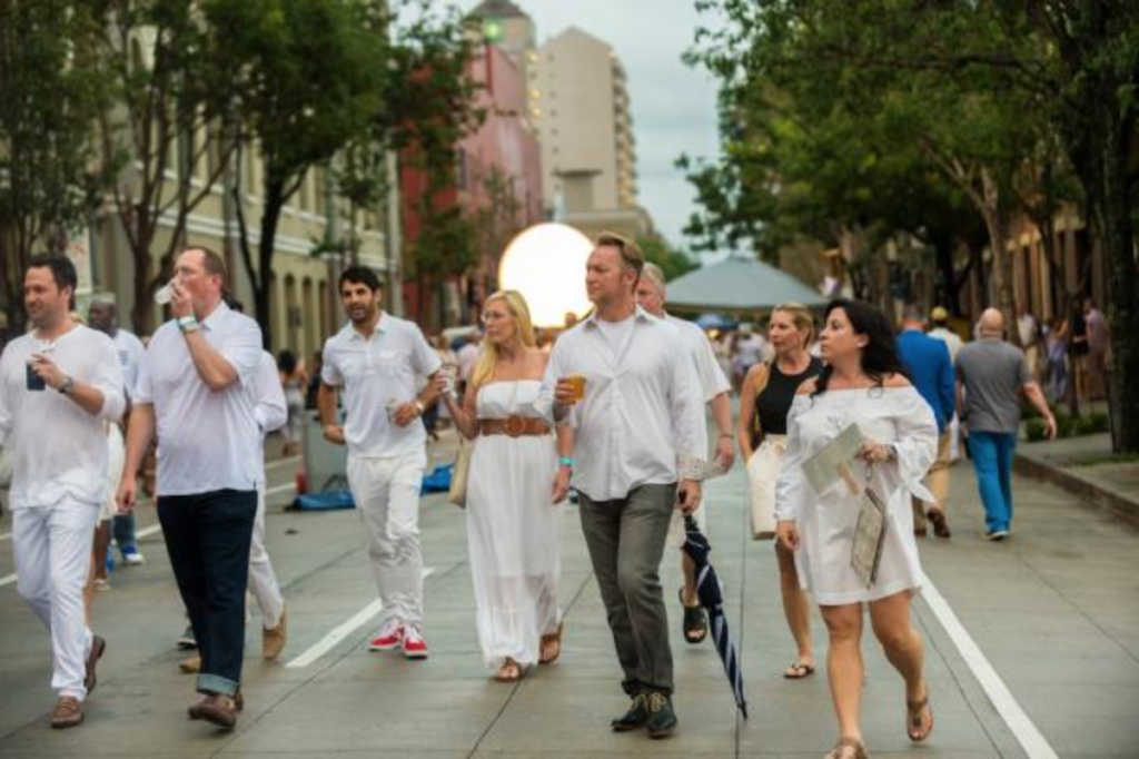 Whitney White Linen Night New Orleans Summer Events