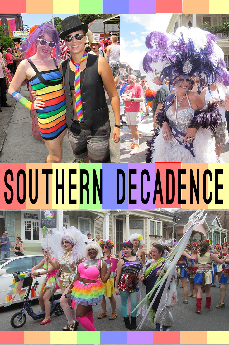 Southern Decadence in the New Orleans French Quarter.