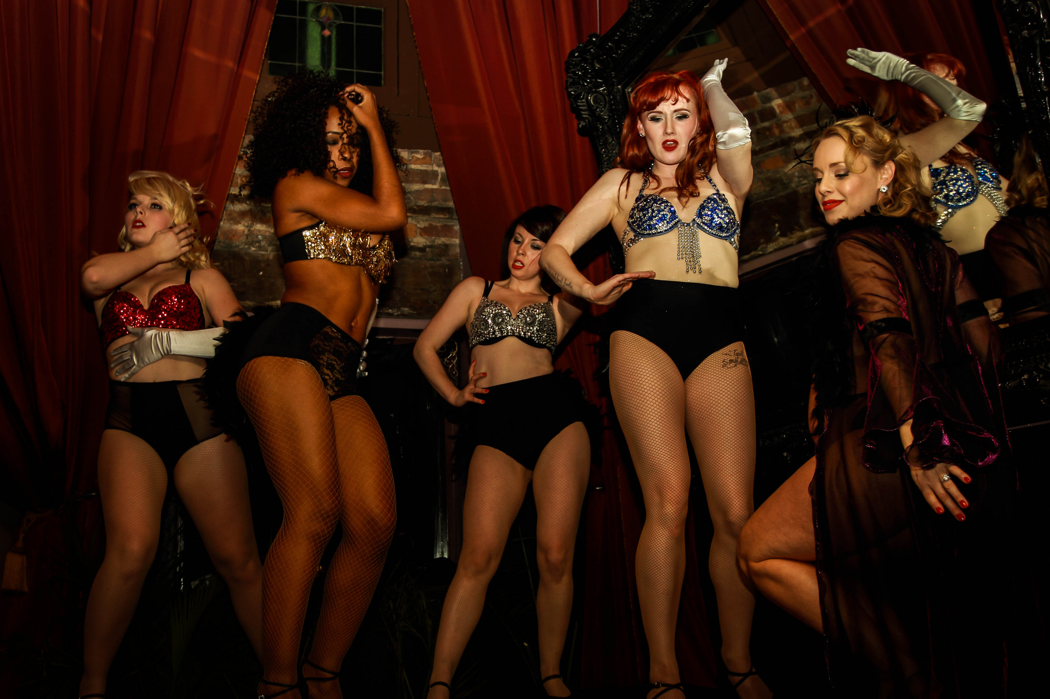 Burlesque show in New Orleans