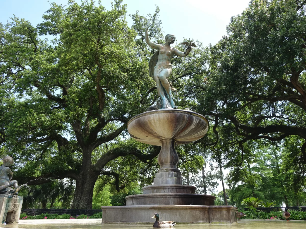 New Orleans' Best Parks: Discover the dreamy scenery at Audubon Park. Photo Provided by NewOrleans.com